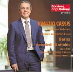 Incontro con il Consigliere federale Ignazio Cassis