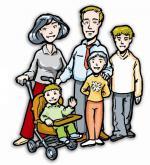 Uno schema per pregare in famiglia